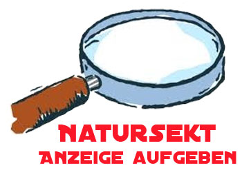 Natursekt Anzeige aufgeben