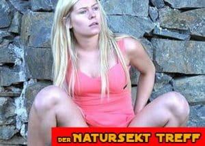 Blondes Natursekt Luder